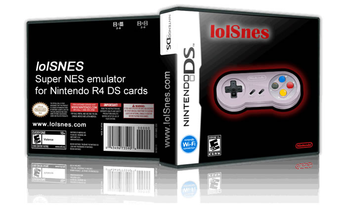 lolSnes emulator SNES DS