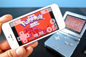 pSPhone GBA Emulator Pokemon iPhone